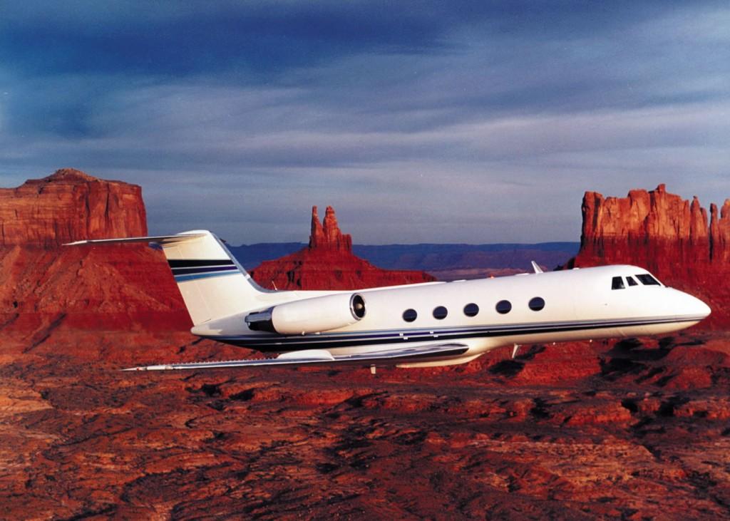 Jimmy Swaggart's Gulf Stream Jet