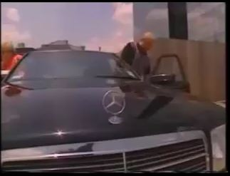One of the Swaggart Mercedes